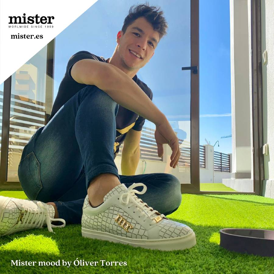 Óliver Torres dazzles with the new Mister sneakers collection!