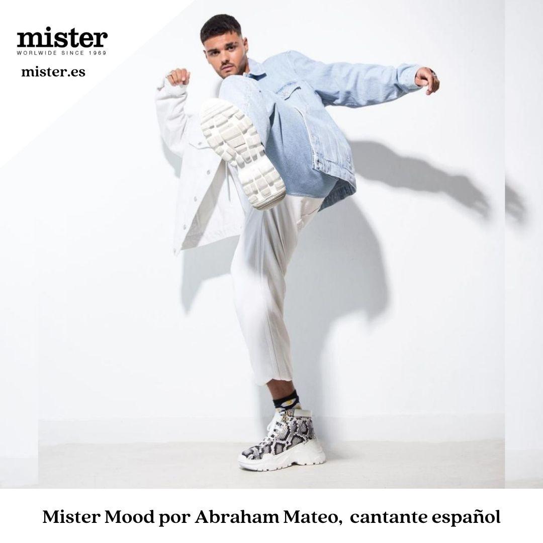 En este momento estás viendo ¡Estilazo de Abraham Mateo con Mister Shoes!